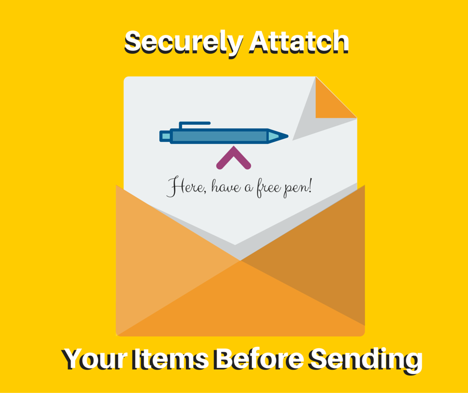 sending an pen in the mail