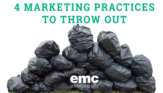 4 Marketing Practices to Throw Out