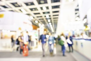 attending exhibitions and trade shows