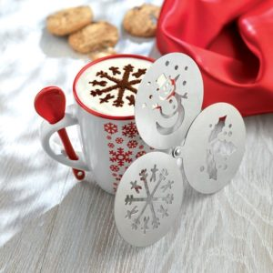 Christmas Coffee Stencil Set