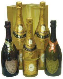 Special Label Dom Perignon Champagne