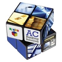 rubix cube type game as a promotional gift