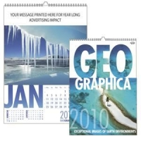 personalised calendar as a promotional gift