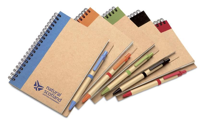 Eco Notebook and Pen